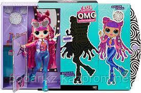 Кукла L.O.L. Surprise O.M.G. Roller Chick 3 серия лол ОМГ - фото 1