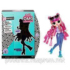 Кукла L.O.L. Surprise O.M.G. Roller Chick 3 серия лол ОМГ - фото 2