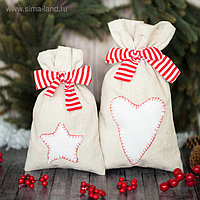 Мешки для подарков «Новогодние сладости», набор для шитья, 16,3 × 10,7 × 2,5 см