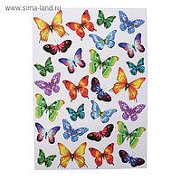 "Наклейки Decoretto ""Пестрые бабочки"" 50х70 см"