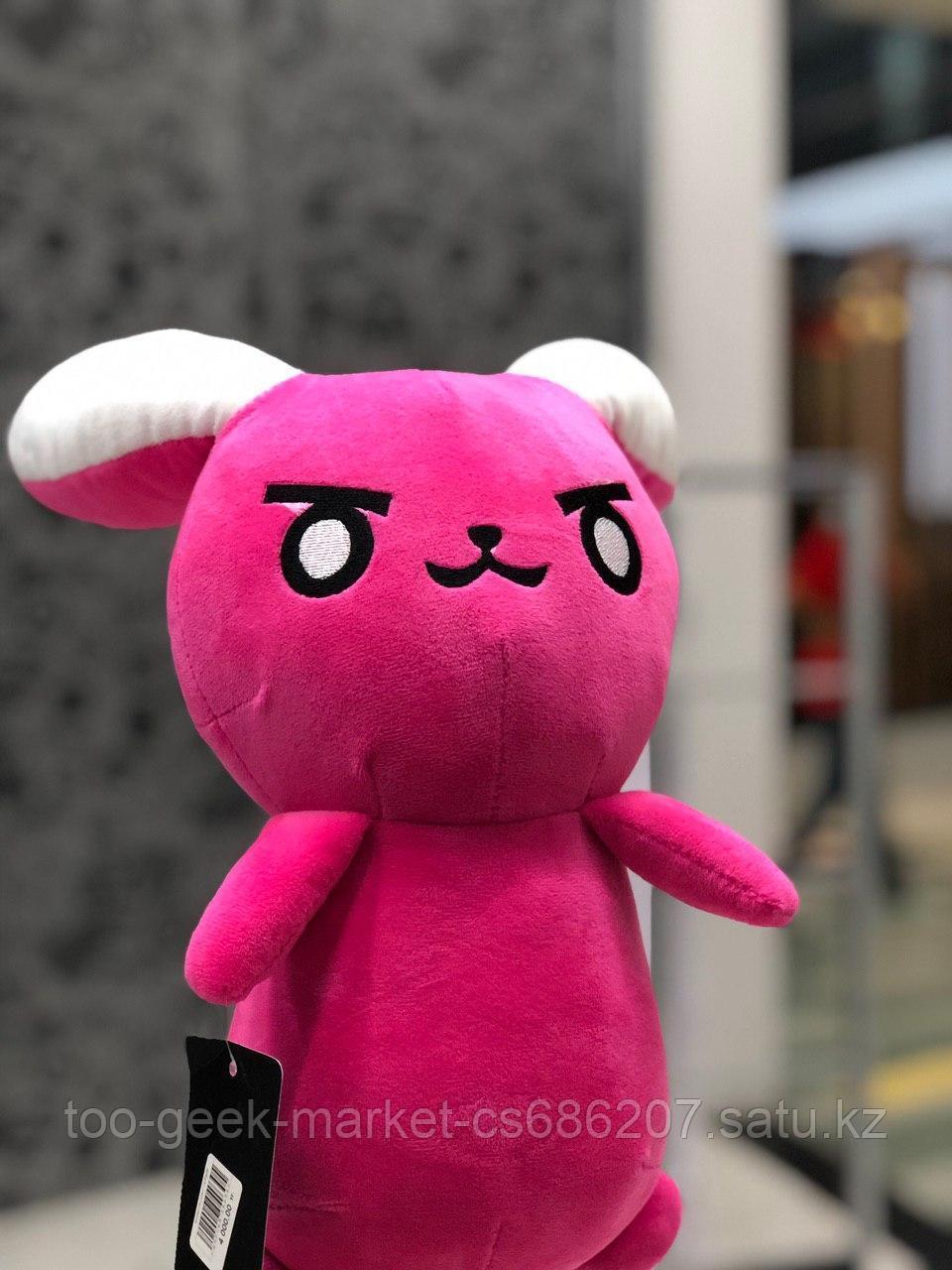 """Мягкая игрушка """"Розовый кролик. D.Va"""""""