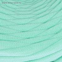 Пряжа трикотажная широкая 50м/160гр, ширина нити 7-9 мм (ментол)