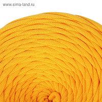 Пряжа трикотажная широкая 50м/160гр, ширина нити 7-9 мм (манго)