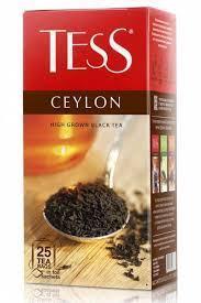 Чай Tess Ceylon, black tea, (2 х 25 х 10)