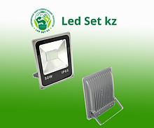 Светодиодный прожектор DECO SLIM-80 50Вт, 4000Лм, белый корпус