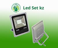 Светодиодный прожектор DECO SLIM-80 30Вт, 2400Лм, белый корпус