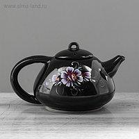 """Чайник для заварки 0,6 л """"Японский"""" темный, микс"""