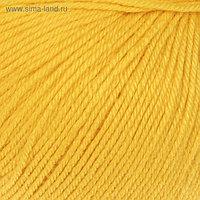 "Пряжа ""Baby Wool"" 20% кашемир, 40% меринос. шерсть, 40% акрил 175м/50гр (812 жёлтый)"