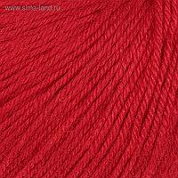 """Пряжа """"Baby Wool"""" 20% кашемир, 40% меринос. шерсть, 40% акрил 175м/50гр (811 красный)"""