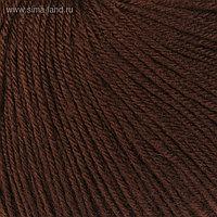 """Пряжа """"Baby Wool"""" 20% кашемир, 40% меринос. шерсть, 40% акрил 175м/50гр (807 шоколад)"""