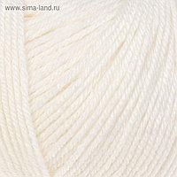 """Пряжа """"Baby Wool"""" 20% кашемир, 40% меринос. шерсть, 40% акрил 175м/50гр (801 белый)"""