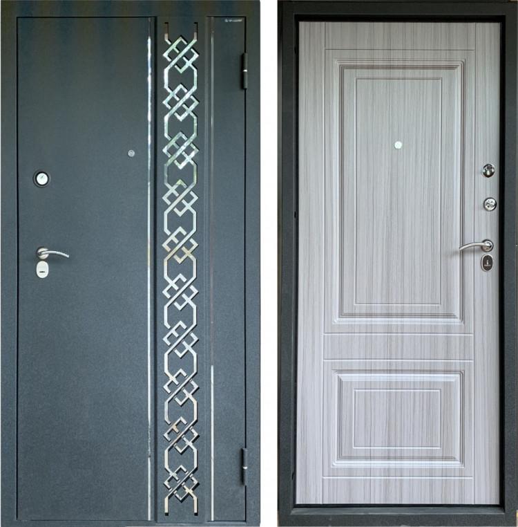 Металлическая дверь Брест 3D
