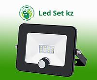 Светодиодный прожектор с датчиком движения GENERAL GTAB 20W IP65 6500K 1650Лм