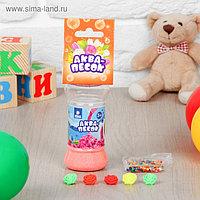 Аквапесок «Цветочки» с растущими игрушками и гидрогелем