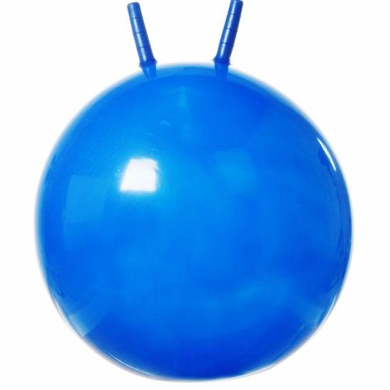 Мяч гимнастический 55 см с рожками Россия - фото 1