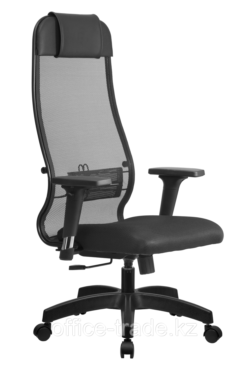 Кресло SU-1-BK (Комплект 11 c 2D подолокотниками)