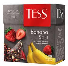 Чай Tess Banana Split, black tea (1,8 х 20 х 12)