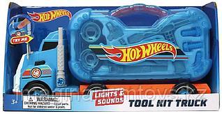 Hot Wheels Автовоз с инструментами, звуком и подсветкой новинка 2020