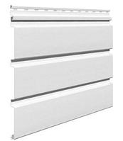 Софит виниловый 0,3x3,0 м (0,9 м2) Белый без перфорации SV-08 UNICOLOR