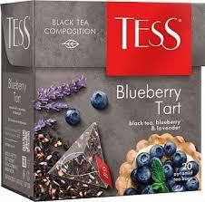 Чай Tess Blueberry Tart, black tea (1,8 х 20 х 12)