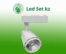 Светильник трековый светодиодный TR-03 24Вт 230В 4000К 2160Лм 91x134x155мм белый IP40