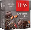 Чай черный TESS Choсolate Kiss в пирамидках (20 х 1,8г)