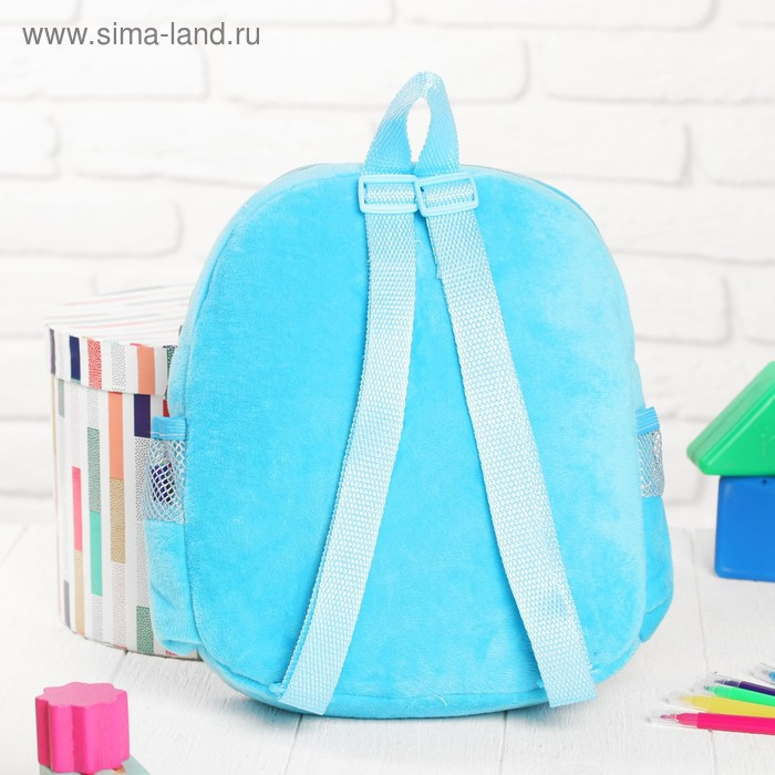 Рюкзак с рисунком под роспись «Рыбка» + фломастеры 5 цветов, цвета МИКС - фото 3