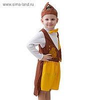 """Карнавальный костюм """"Жук"""", шапка, фрак, шорты, рост 122-134 см"""