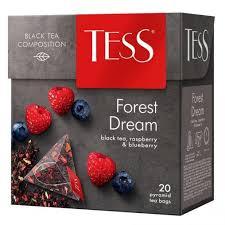 Чай TESS Forest Dream черный с добавками 1,8 г х 20 пирам.