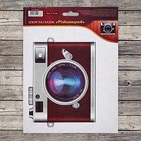 """Декор на глазок """"Фотоаппарат"""", 16,6 х 12,2 см"""
