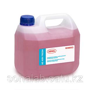 R5 Air Fresh- Средство концентрированное, освежитель воздуха, нейтрализатор неприятных запахов, 3л
