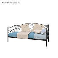 Кровать «Тахта Юлия»,800х2000, каркас чёрный