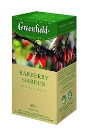 Чай Greenfield Barberry Garden, черный, 25 пакетиков