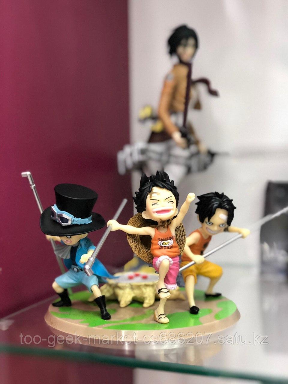 Фигурка Ace, Sabo & Luffy Childhood
