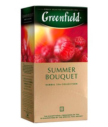 Чай каркаде Greenfield Summer Bouquet травяной (25 пак. х 2г), фото 2