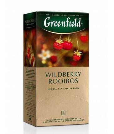Чай травяной Greenfield Wildberry Rooibos (25 пак. х 1,5г), фото 2
