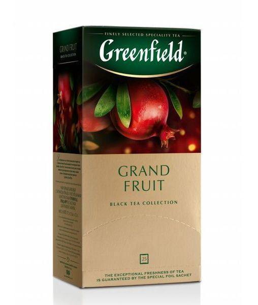 Чай черный Greenfield Grand Fruit (25 пак. х 1,5г)