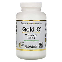 БАД Gold C, Витамин C, 500 мг (240 капсул)