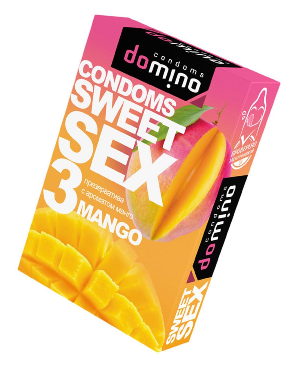 Презервативы для орального секса Luxe Sweetsex манго №3