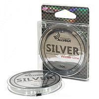 "Леска монофильная ALLVEGA ""Silver"" 50м 0,18мм (4,04кг) серебристая SIL50018 tr-215742"