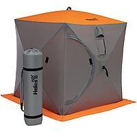Палатка зимняя куб 1,5х1,5 orange lumi/gray helios (hs-isc-150olg) tr-186985