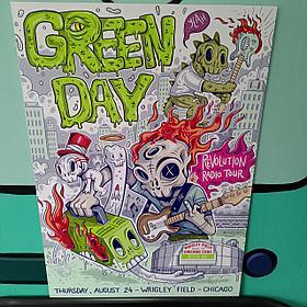 Постер Green Day