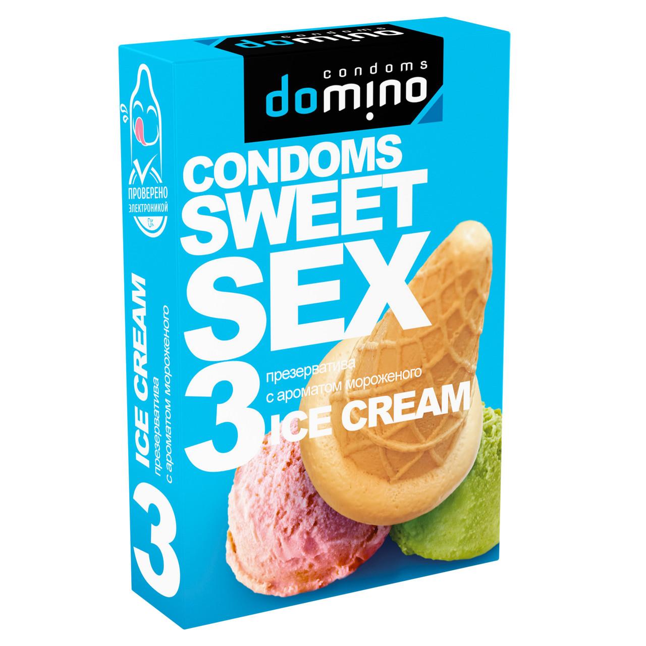 Презервативы для орального секса Luxe Sweetsex мороженое №3
