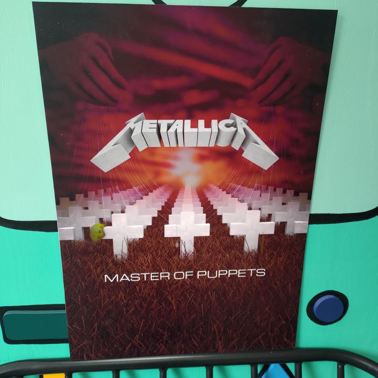 Постер Metallica Master of Puppets