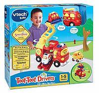 Развивающая игрушка , Большая пожарная машина ,VTECH