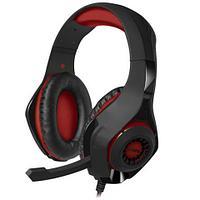 SVEN AP-G886MV Игровые стереонаушники с микрофоном черный-красный
