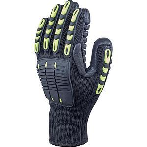 Антивибрационные перчатки трикотажные бесшовные в Алматы