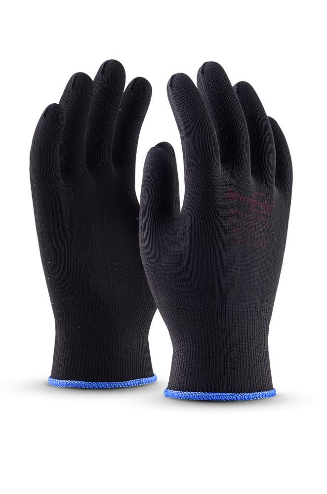 Нейлоновые перчатки МИКРОН БЛЭК TNY-25 в Алматы