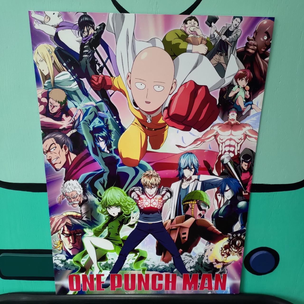 Постер One punch man