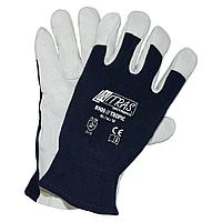 Перчатки кожаные комбинированные NITRAS TROPIC